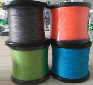 PE Braided Fishing Line Packed by Big Spool pictures & photos