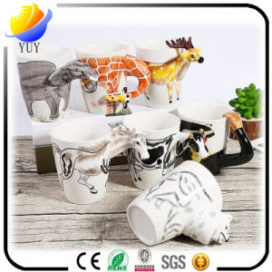 New Design Customized Logo Ceramic Cup Coffee Cup pictures & photos