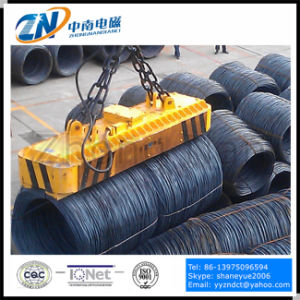 High Temperature Wire Rod Coil Lifting Magnet with Special Magnetic Pole MW22-14072L/2 pictures & photos