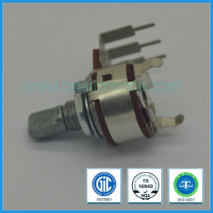 16mm Rotary Potentiometer with Long Pin for Audio Equipment pictures & photos