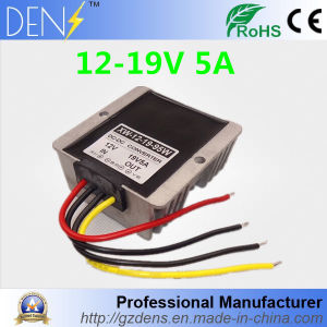 Waterproof IP65 12V to 19V 5aamp Max DC DC Converter pictures & photos