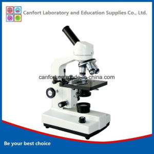 1600X High Quality Student Biological Monocular Microscope for Laboratory Instrument pictures & photos