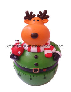 Christmas Elk (Reindeer) Kitchen Timer, Christmas Countdown Timer pictures & photos