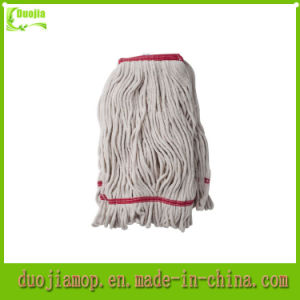 Loop End Dust Mop Head Natural Cotton Mop pictures & photos