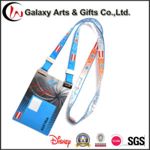 Various Design Passes Holder with Metal Clip for ID Card Holder Lanyard pictures & photos
