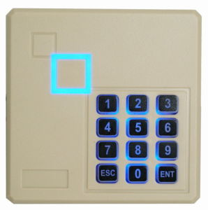 Hot! Keyboard Em/MIFARE RFID Reader for Access Control System pictures & photos