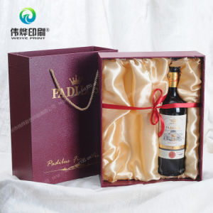 2017 Latest Deluxe Fancy Paper Packaging Box Printing for Wine pictures & photos
