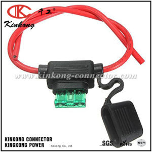 China Electrical in Line Blade Fuse Holder Wire Harness pictures & photos