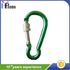 Aluminium Gourd Carabiner with Twistlock