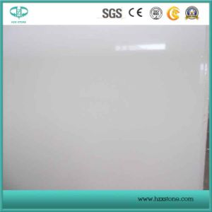 Pure White Quartz Slab, Artificial White Quartz Countertop/Vanitytop pictures & photos