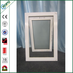 Plastic Profile Impact-Resistant Frosted Glass Awning Window pictures & photos