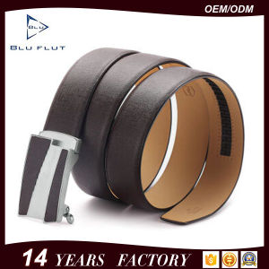 Leather Ratchet Belt Fashion Genuine Cowhide Metal Buckle Man Belts pictures & photos