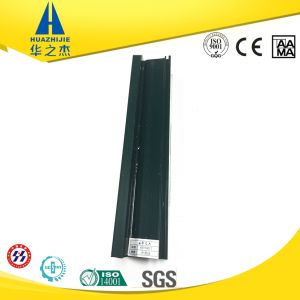 Dark Green Full Color Extrusion UPVC Profile for Window pictures & photos