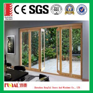 Double Glazing Bifold Aluminium Sliding Doors with As2047 pictures & photos