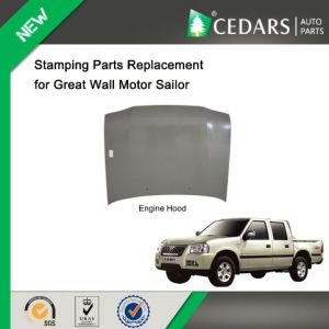Stamping Parts Replacement Engine Hood for Great Wall Sailor pictures & photos