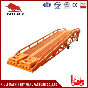 Mobile Loading Ramp with Load Capacity 8 Tons pictures & photos
