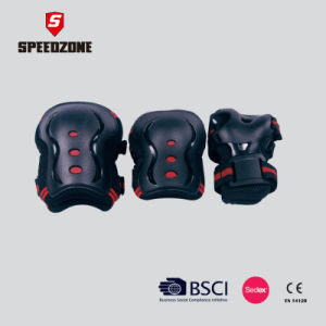 Black Color Outdoor Sports Tactical Protective Knees Elbow Pads pictures & photos