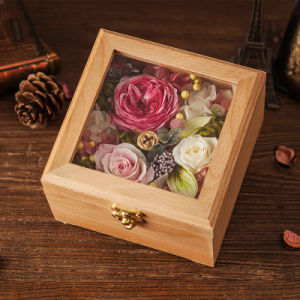 Wooden Preserved Flower for Wedding Decoration Gift pictures & photos