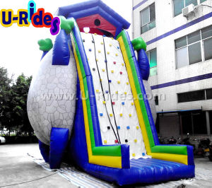 Tree Shape Inflatable Sports Climbing Hill sticky Climbing Rock climbing wall game for event pictures & photos