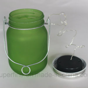 2017 Hot Summer Product Frosted Glass Solar Firefly LED Jar Light for Garden pictures & photos