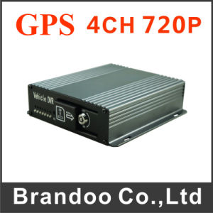 4CH 4G 3G GPS HDD Mobile DVR for Trucks pictures & photos