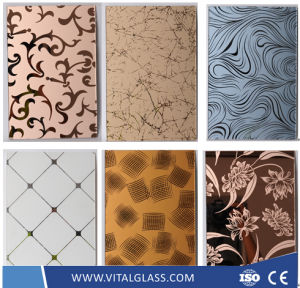 Art Decorative/Stained/Painted/Ceramic/Jade/Silk Screen Printing/Frosted/Louver/Anti Refelctive/Switchable/Block Glass pictures & photos