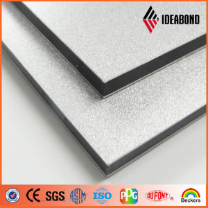 Ideabond Silver PVDF Aluminum Composite Panel for Curtain Wall (AF-403) pictures & photos