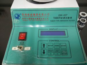 Rubber Taber Abrasion Testing Machine (GW-027) pictures & photos