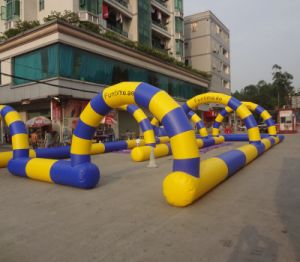 Advertising Inflatable Zrob Ball Racing Car Track for Sale pictures & photos