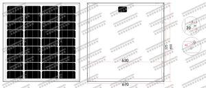 18V 60W-70W Mono Solar Panel (2017) pictures & photos