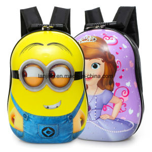 Cartoon Egg Shell Child Backpack Kindergarten Bag 3-4-5-6 Years Old pictures & photos