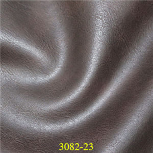 Quality Shrink PU Synthetic Leather for Bags & Luggages pictures & photos
