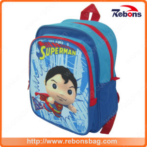 Cheap Promotional Logo Printed Drawstring Compartments School Bag for Children pictures & photos