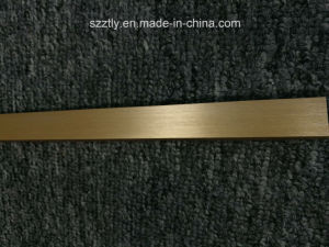 Brushed Anodized Extruded Aluminium/Aluminum Tube for Decocration pictures & photos