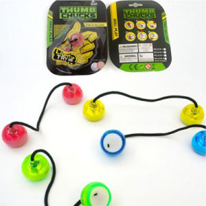 Factory Wholesale Fidget Yoyo LED Fingertip Skill Toy Thumb Chucks pictures & photos