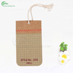 High Quality Eco-Friendly Printed Logo Kraft Hang Tag (KG-PA030) pictures & photos