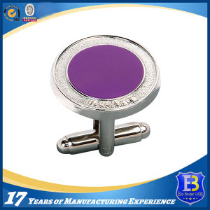 Custom Silver Cufflink with Synthetic Enamel (ele-CL002) pictures & photos