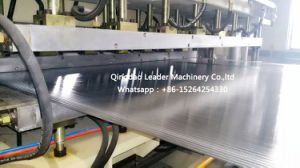 High Tech PC Polycarbonate Hollow Sheet Multiwall Board Hollow Roofing Sheet Sunshine Panel Making Machine pictures & photos