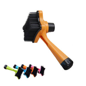 Pet Multi-Functional Plastic Brush pictures & photos