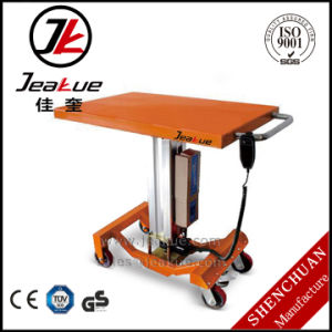 Wholesale Single Column Electric Lift Table pictures & photos