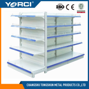 Store Shop Concave-Convex Back Panel Shelf pictures & photos