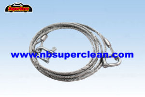 Steel Cable Tow Rope with Hook pictures & photos