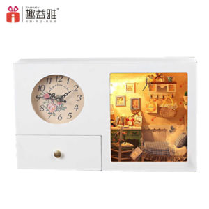New Design 3D Wooden Puzzle Clock pictures & photos