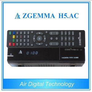 H. 265 TV Decoder ATSC + DVB S/S2 Zgemma H5. AC pictures & photos