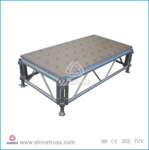 Aluminum Stage, Model Stage, Concert Stage, Singing Dancing Stage, Fashion Show Stage, Wedding Stage, Plywood Wood Stage Floor pictures & photos