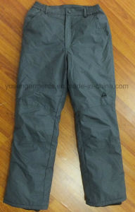 Adult′s Padded Waterproof Windproof Breathable Trousers Ski Pant (SW08) pictures & photos