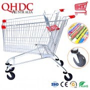 Suzhou Qhdc Australia 180liter Supermarked Heavy Duty Trolley with Cheap Price of a Supermarket Cart for Sale