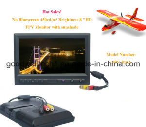 "Aerial Photography 8"" HD Fpv Monitor, No Blue Screen When Signal Is Weak pictures & photos"