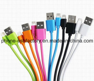 Colorful PVC Insulated 8 Pin Lightning USB Cable Micro USB Charger pictures & photos