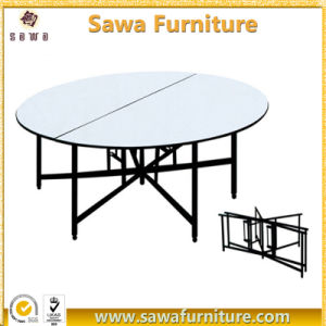 Event Plywood Table Folding Banquet Table pictures & photos